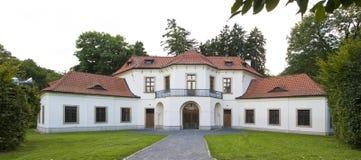 Barocker Pavillion in Prag Stockfotografie