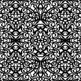 Barockes Art-Muster, vector nahtloses Muster Stockfoto