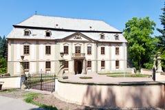 Barockes Chateau Potstejn von 1746-1755, Ost-Böhmen, Tschechische Republik Lizenzfreie Stockfotografie