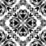 Barockes Muster Stockbild
