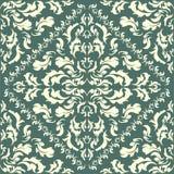 Barockes nahtloses Muster Stockbilder