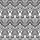 Barockes nahtloses Muster lizenzfreie abbildung