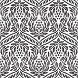 Barockes nahtloses Muster stock abbildung