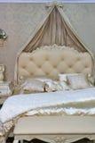 Barockes Schlafzimmer stockbild
