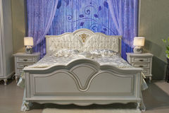 Barockes Schlafzimmer stockbilder