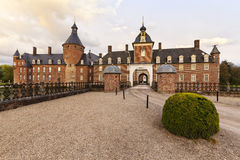 Barockes Schloss Anholt bei Borken, Niederrheinregion Stockbild