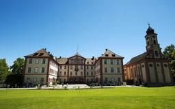 Barockes Schloss auf der Mainau Insel/dem Deutschland Lizenzfreie Stockbilder