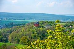 Barockes Schloss Brandenstein in Thüringen Stockfotos