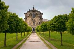 Barockes Schloss Kuks in der Tschechischen Republik Lizenzfreies Stockfoto
