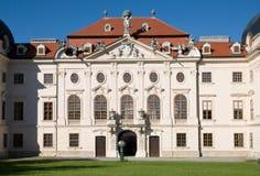 Barockes Schloss Riegersburg in Niederösterreich, Österreich lizenzfreie stockfotografie