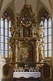 Barockt altare royaltyfri fotografi