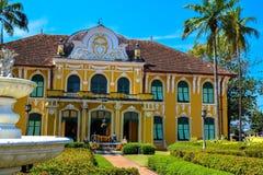 Barockt museum för traditionell medicin för arkitektur Arkivfoto