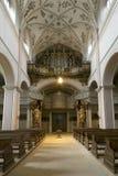barockt organ royaltyfria foton