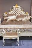 Barockt sovrum arkivbild