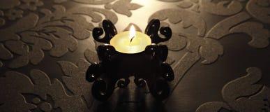 barockt stearinljus royaltyfria foton