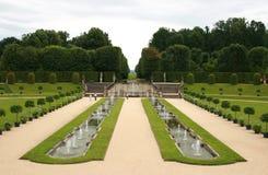 barockträdgård Arkivbilder