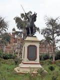 Baroda museum, Vadodara, Indien royaltyfria foton