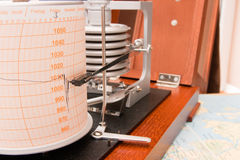 Barograph Stock Photography