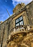 Barok Balkon royalty-vrije stock foto's