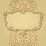 Barok frame Stock Afbeelding