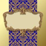 Barok frame Royalty-vrije Stock Foto's