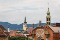 Barok góruje Graz Obrazy Royalty Free