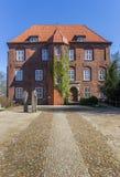 Barok grodowy Agathenburg w Niskim Saxony Zdjęcie Royalty Free