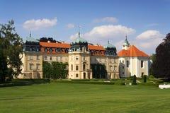 Barok Grodowy Lany, lata prezydent republika czech siedziba Obraz Royalty Free