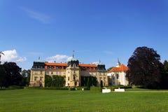 Barok Grodowy Lany, lata prezydent republika czech siedziba Obrazy Royalty Free