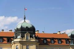 Barok Grodowy Lany, lata prezydent republika czech siedziba Zdjęcia Royalty Free
