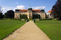 Barok Grodowy Lany, lata prezydent republika czech siedziba Fotografia Royalty Free