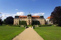 Barok Grodowy Lany, lata prezydent republika czech siedziba Zdjęcie Stock