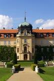 Barok Grodowy Lany, lata prezydent republika czech siedziba Fotografia Stock