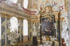 Barok grodowy Valtice, UNESCO, krajowy kulturalny punkt zwrotny Obraz Royalty Free