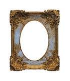 Barok grungeframe Stock Afbeeldingen