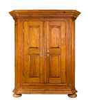 Barok houten kabinet Royalty-vrije Stock Foto's