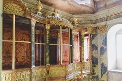 Barok kasteel Valtice, Unesco, nationaal cultureel oriëntatiepunt royalty-vrije stock afbeeldingen