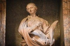 Barok Marmeren Standbeeld Stock Foto's