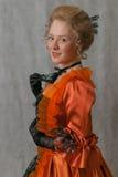 Barok meisje Stock Afbeeldingen