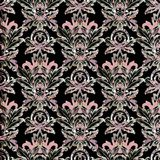 Barok naadloos patroon Royalty-vrije Stock Afbeelding