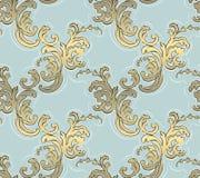 Barok naadloos patroon stock illustratie