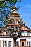 Barok Phillipsruhe-Kasteel in Hanau, Duitsland Royalty-vrije Stock Afbeelding