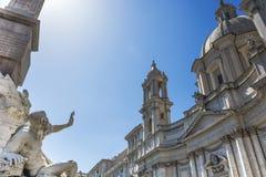 Barok in Rome Stock Foto