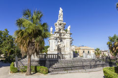Barok standbeeld Royalty-vrije Stock Afbeeldingen