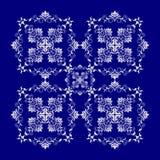 Barok stylowa błękitna tekstura, tło/ Zdjęcia Stock