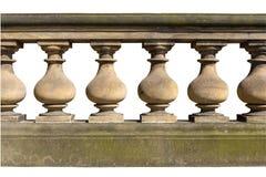 Barokke balustrade Royalty-vrije Stock Afbeeldingen