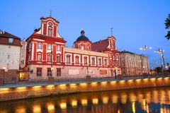 Barokke bibliotheek in Wroclaw Royalty-vrije Stock Fotografie
