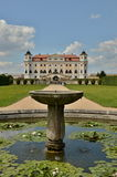 Barokke Chateau Milotice royalty-vrije stock foto's