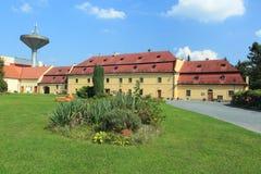 Barokke chateau Roztoky Stock Afbeeldingen