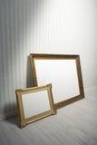 Barokke kaders Stock Fotografie